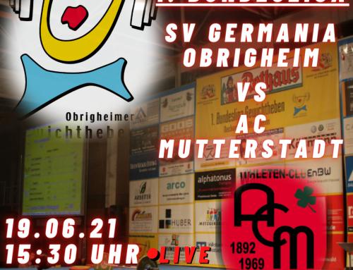 Bundesliga gegen Mutterstadt