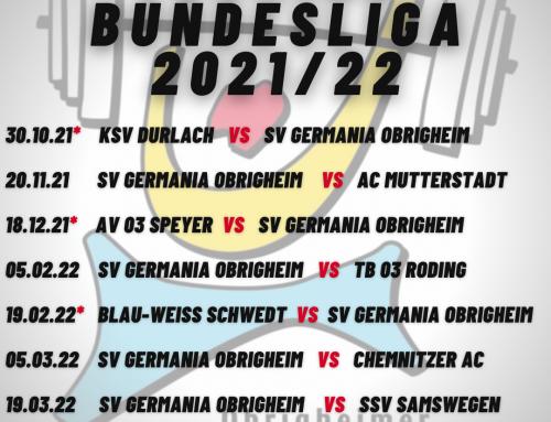Die Termine Bundesliga sind da!!!