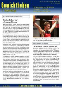 thumbnail of Newsletter Nr. 24 der Obrigheimer Gewichtheber